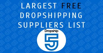 Largest Free Dropshipping Suppliers List